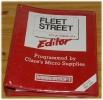 Fleet Street Editor cover