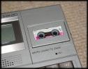 Epson HX20 micro-cassette in drive